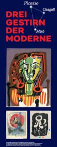 Eröffnung der Ausstellung: Picasso, Chagall, Miró ein Dreigestirn der Moderne