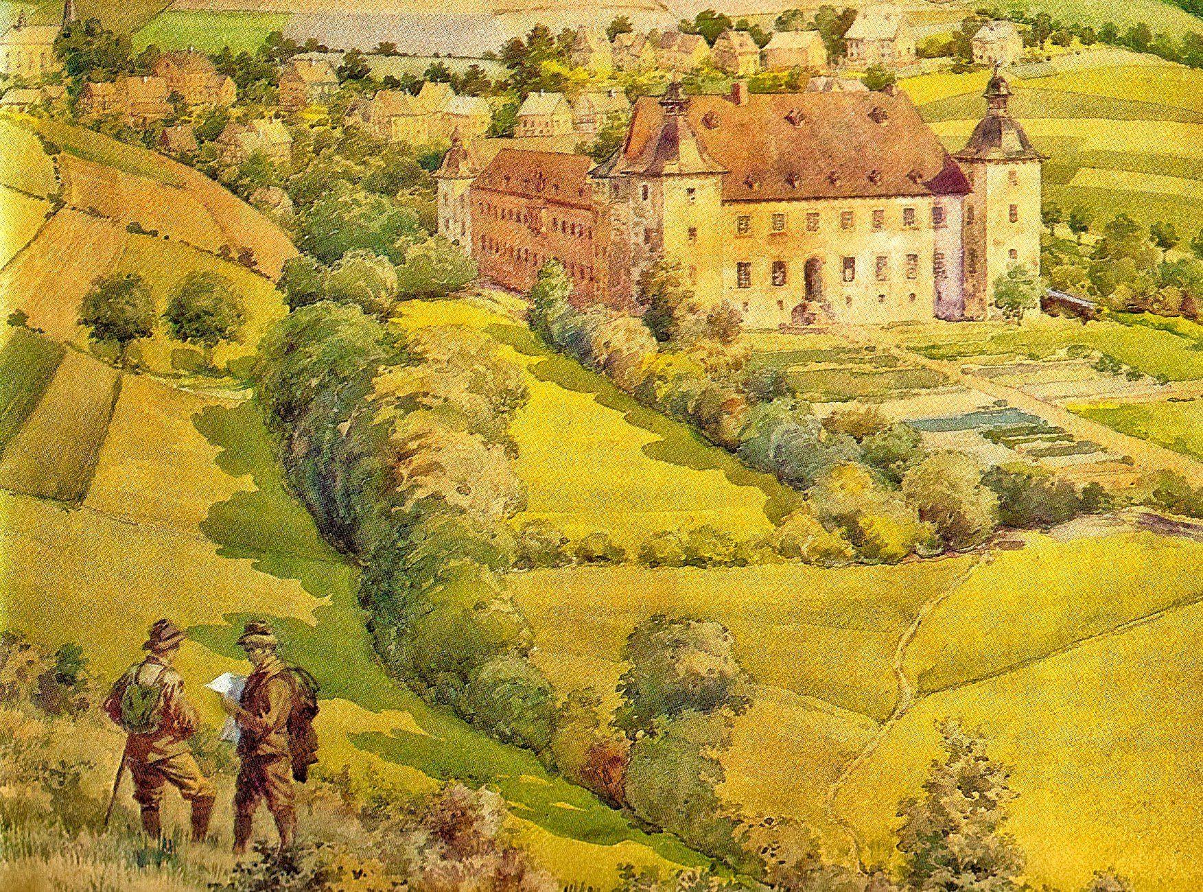 Gemälde Adolfsburg