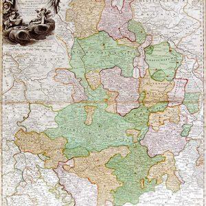 Homann Karte Westfalen