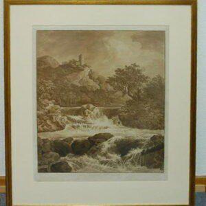 II 593 Der große Wasserfall - Süedsauerlandmuseum Attendorn