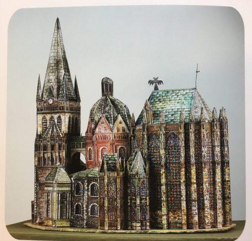 """""""Europäische Wahrzeichen"""" Baukunst im Kartonmodellbau 1"""