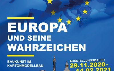 """""""Europäische Wahrzeichen"""" Baukunst im Kartonmodellbau"""