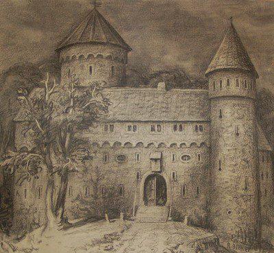 Zeichnung R. Bicher-Waldenburg