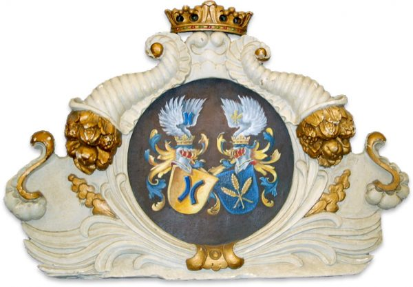 Das Wappen der Familie Vasbach